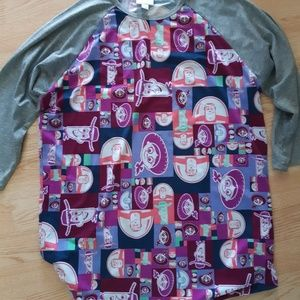 Disney lularoe Randy Toy Story shirt size XL